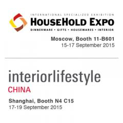 HouseHold Moscow & Interiorlifestyle Shanghai