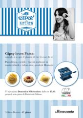 SAVE THE DATE: Gipsy loves pasta!